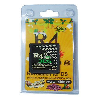 Emballage Noël de R4i gold 3ds-jvmonde