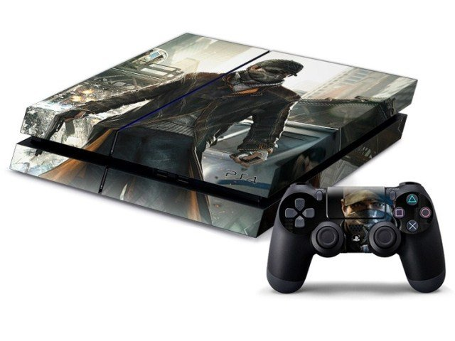 PS4 stickers-jvmonde