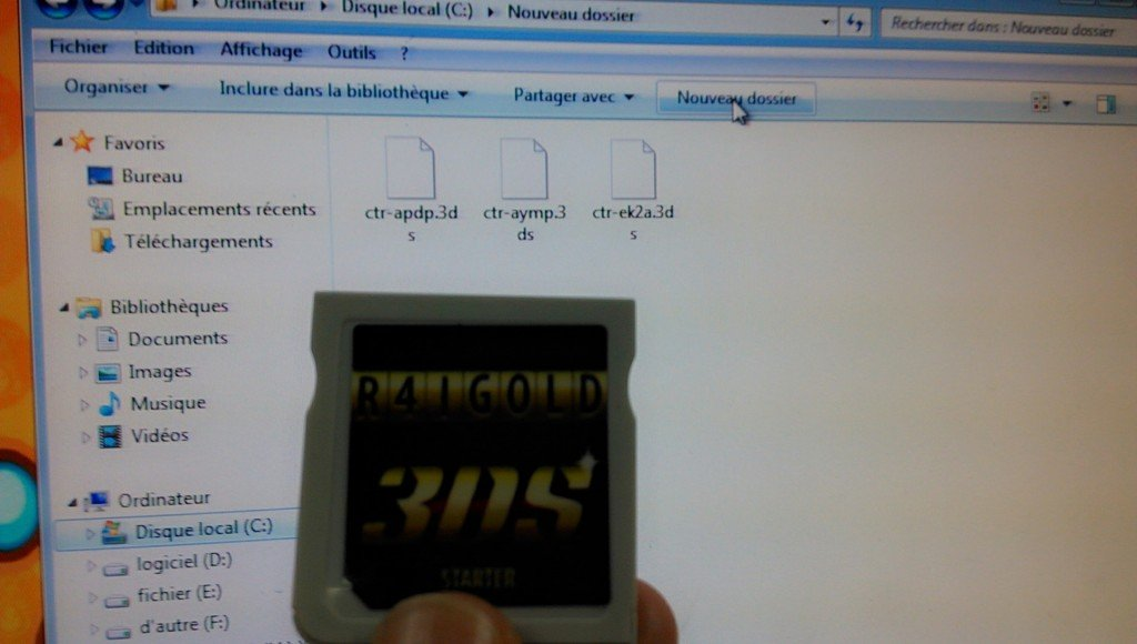 tuto r4i gold 3ds deluxe edition