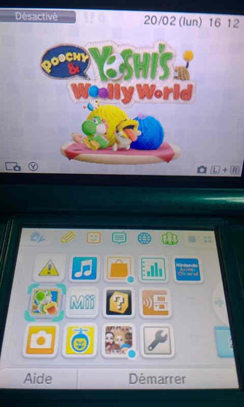 Poochy & Yoshi's Woolly World 1